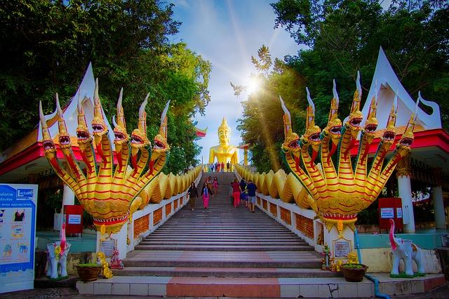 Top 5 điểm du lịch hấp dẫn nhất của Thái Lan