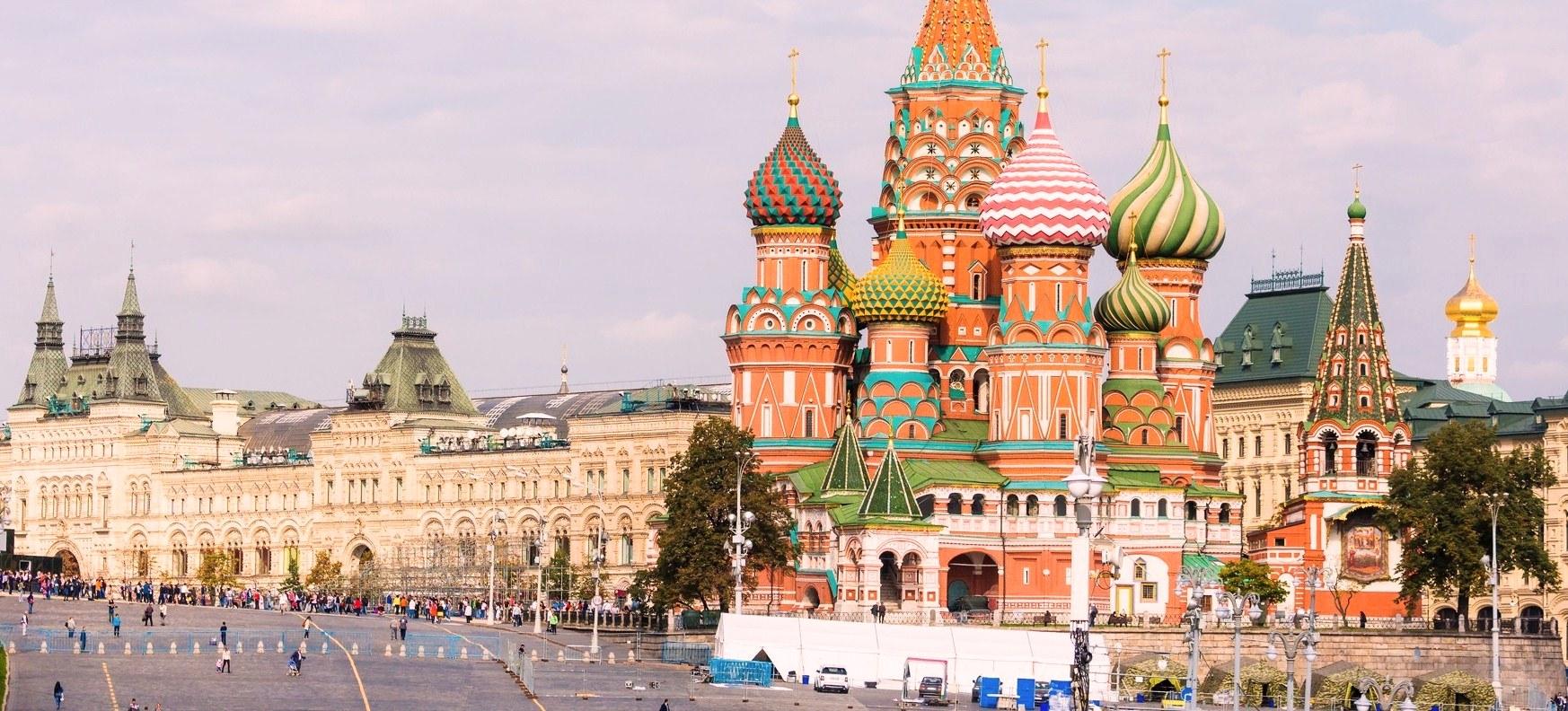 Du lịch Nga: Moscow – Saint Petesrburg 7 ngày
