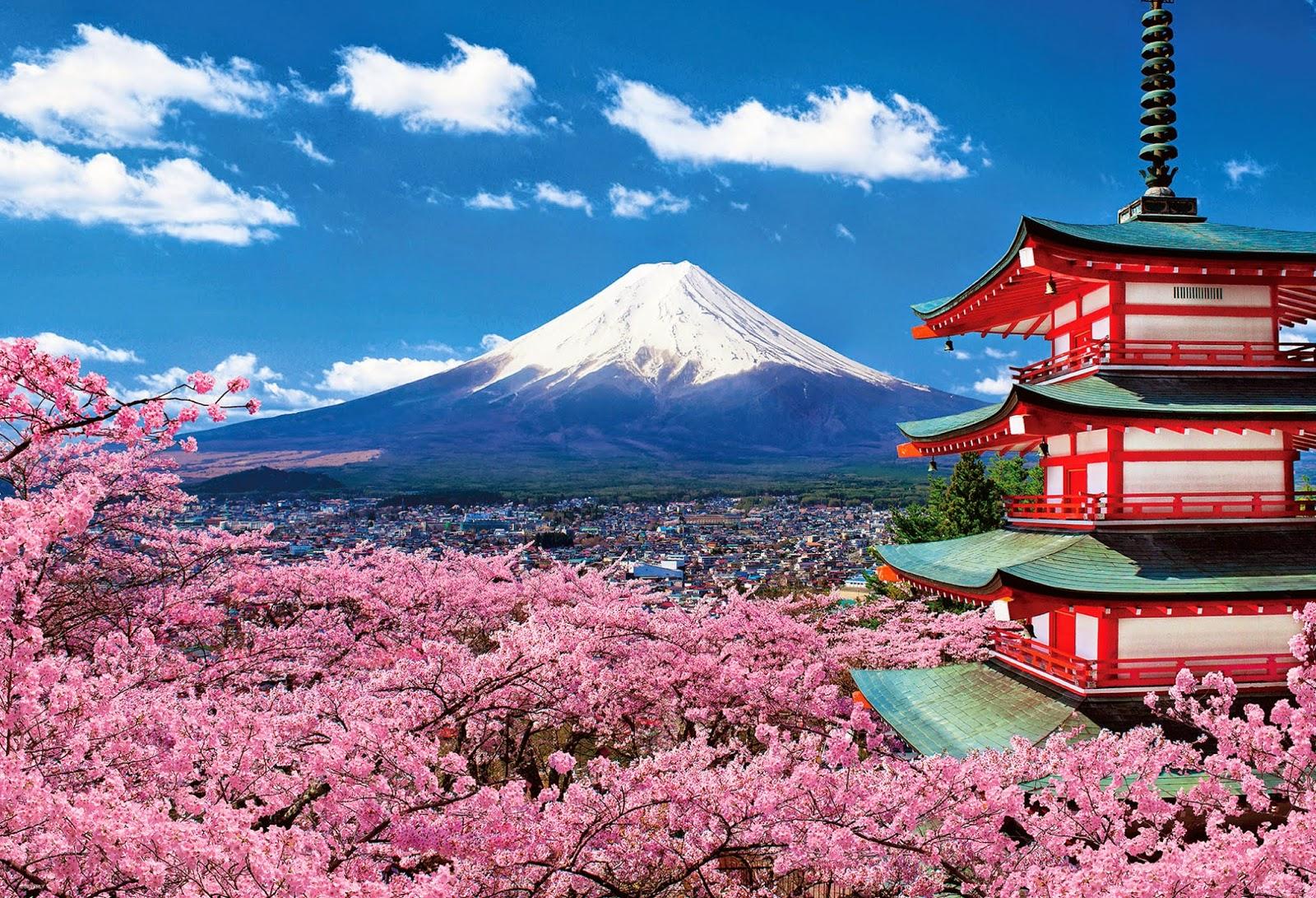 Du lịch Nhật Bản: tokyo - núi phú sỹ 4 ngày