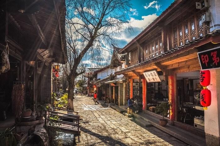 khu phố Cổ Lệ Giang
