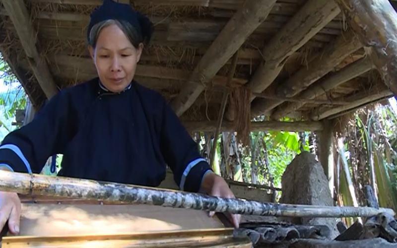 làng giấy bản người Nùng An, Cao Bằng