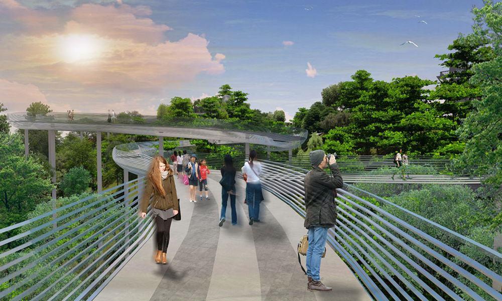 Cầu Bạc - Hứa hẹn siêu phẩm mới trên Bà Nà Hills