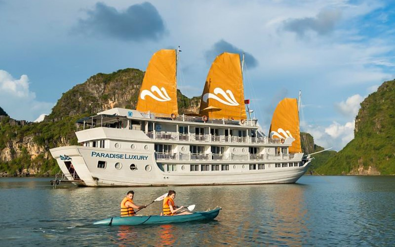 Du thuyền Paradies Luxury 5 sao