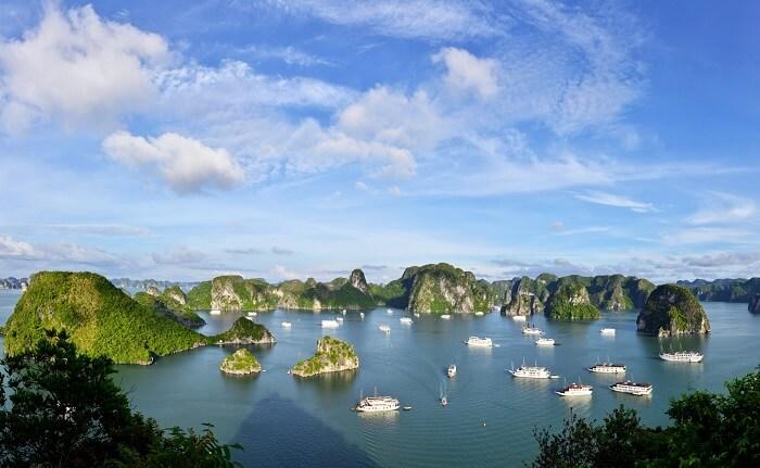 Tour ghép Hạ Long – Lan Hạ ngủ tàu 3 ngày