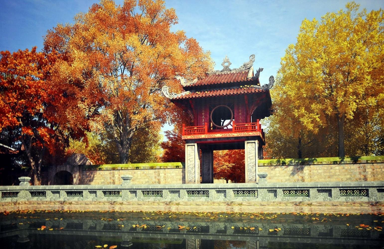 8 Ngôi chùa thiêng cầu may dịp đầu năm ở Hà Nội
