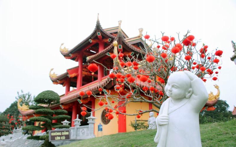 Chùa Khai Nguyên - Điểm đến tâm linh hấp dẫn ở Sơn Tây