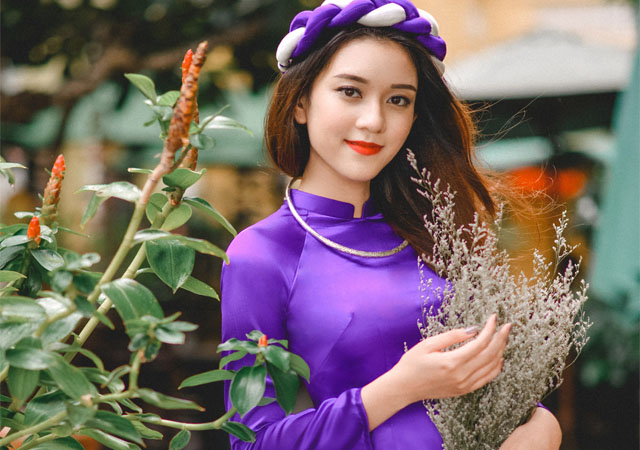 Khám phá nét đẹp áo dài truyền thống Huế