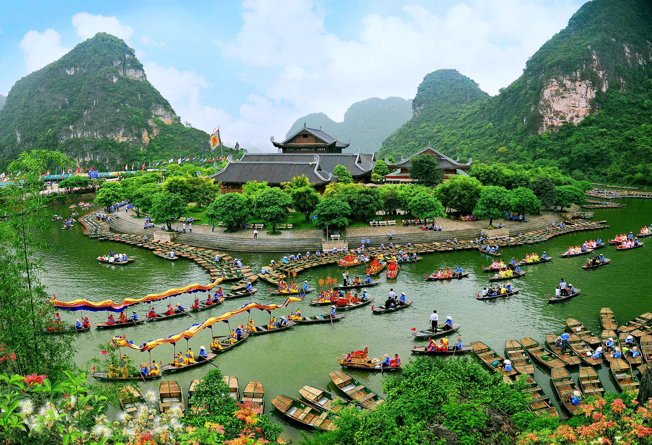 Tour ghép Hoa Lư – Tam Cốc – Bái Đính – Tràng An 2 ngày