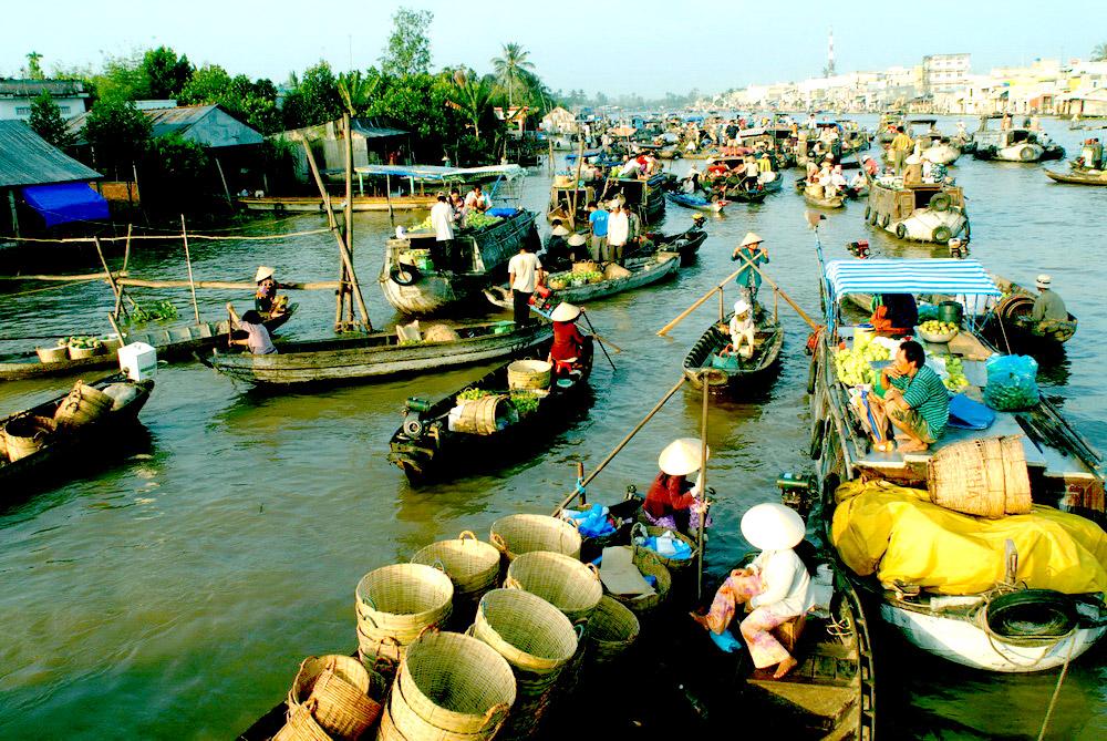 Tour ghép Sài Gòn – Củ Chi – Mỹ Tho – Bến Tre – Cần Thơ – Châu Đốc 5 ngày