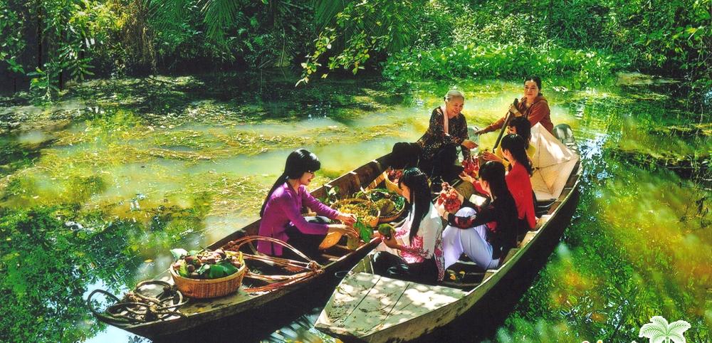 Tour ghép Sài Gòn – địa đạo Củ Chi – Mỹ Tho – Bến Tre – Cần Thơ 4 ngày