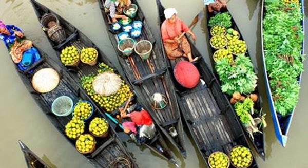 5 Chợ nổi tại Miền Tây